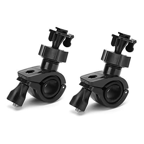 Kafuty-1 2Pcs 360 Grad Dash Cam Rotierendes Auto DVR-Halterung Fahrrekorderhalterung Fahrradgriffhalterung Dash-Kameras DVR GPS(Schwarz)