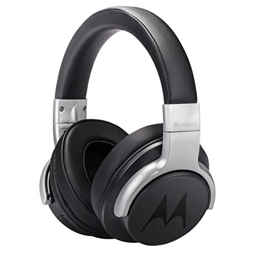 Motorola Escape 500 Wireless Active Noise Cancelling Headphones - Bluetooth Cordless Headset with Mic, ANC - HD Sound Quality, 12-Hour Battery Life, IPX4-Rated Waterproof, Works with Voice Assistants