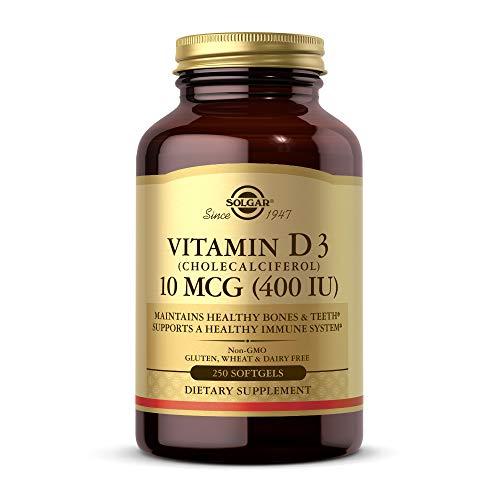 Solgar Vitamin D3 (250 Servings)