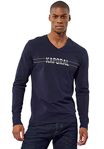 Kaporal - T-Shirt régular Homme avec imprimé - Tina - Homme - M - Bleu