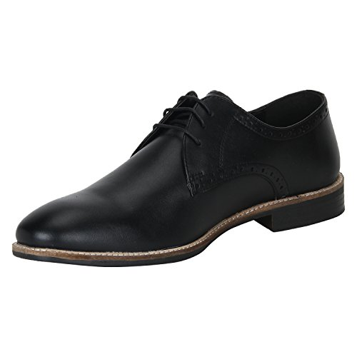 Bond Street by (Red Tape) Men's Black Formal Shoes-7 UK/India (41 EU) (BSE0021)