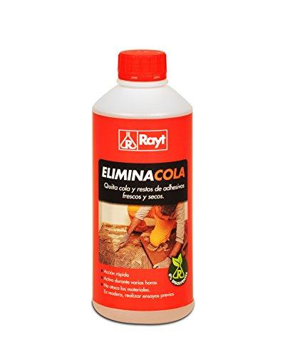 Rayt 674-09 Eliminacola: Quita Colas acrílicas y restos de Adhesivos Frescos y Secos, para instalación Posterior de revestimientos. Rápido y de fácil aplicación, 1kg
