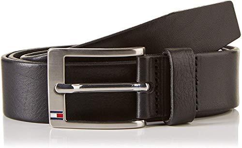 Tommy Hilfiger New ALY Belt Cintura, Schwarz(Black 090), 90 Uomo