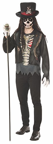 Rubie's Men's Voodoo Man Costume, As Shown, Standard