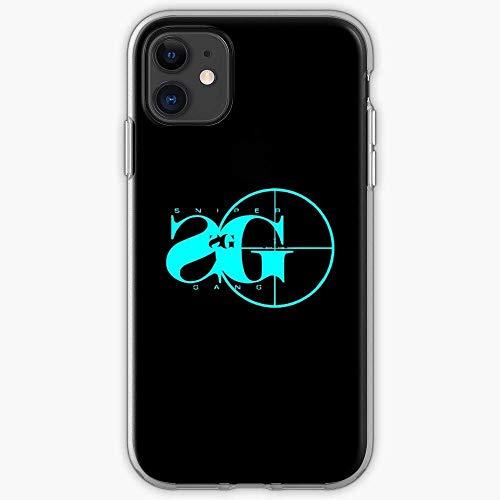 Compatible con iPhone 12/11 Pro MAX 12 Mini SE X/XS MAX XR 8 7 6 6s Plus Funda Hop Gangsta Kodak Rap Black Gang Hip Sniper Cajas del Teléfono Cover