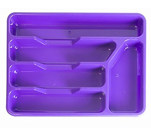 Cutlery tray organiser drawer tidy knives forks spoons kitchen office home