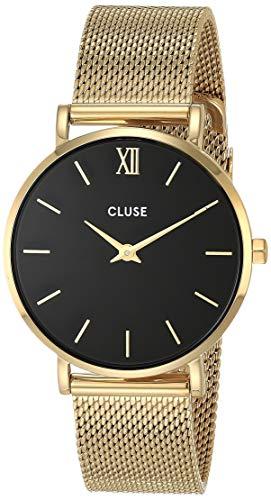 CLUSE Damen Analog Quarz Uhr mit Edelstahl Armband CW0101203017