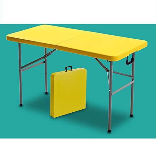LI MING SHOP-Table pliante Portable Extérieure for La Maison, Table Simple Et Chaise, Table Rectangulaire D'activités De Bureau Capacité De Charge Jusqu'à 1000 Kg Ou Plus