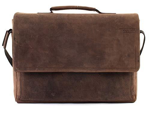 Strellson Turnpike Briefbag MHF, Braun