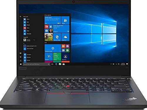 Lenovo ThinkPad E14 Intel Core i3 10th Gen 14-inch Full HD IPS Thin and Light Laptop (4GB RAM/ 256GB SSD/Windows 10 Home/Black/ 1.69 kg), 20RAS1GN00