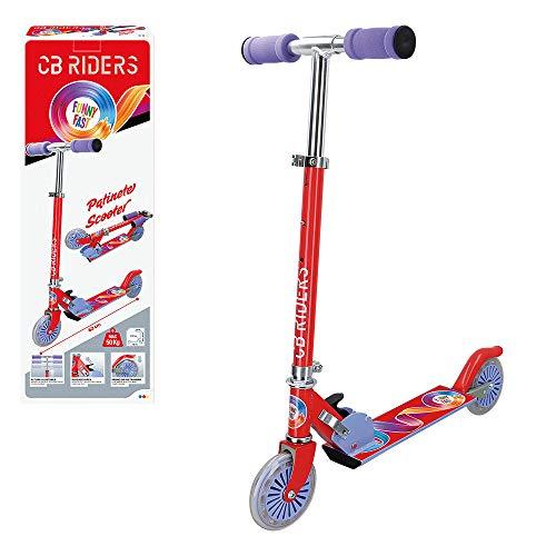 CB Riders - Patinete para niños 3 años patinete plegable aluminio 2 ruedas 12 cm cb riders (54067)