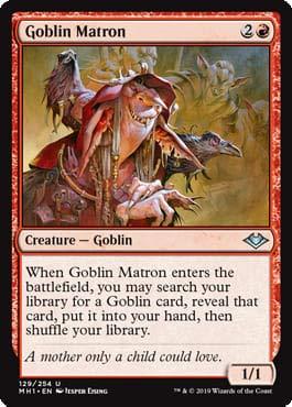 Magic: The Gathering - Goblin Matron - Modern Horizons