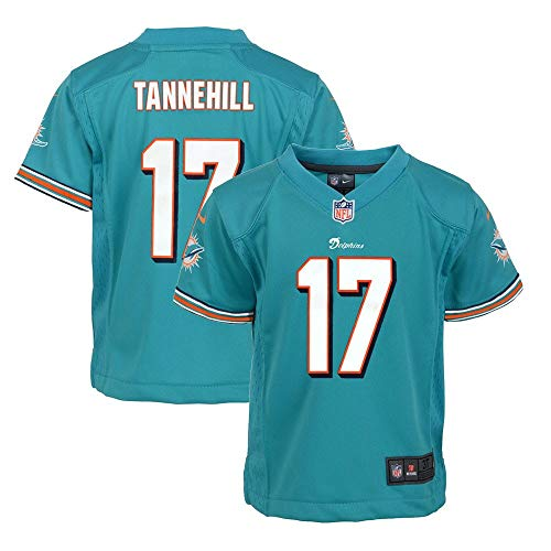 Nike Ryan Tannehill Miami Dolphins NFL Boys Teal Game Jersey