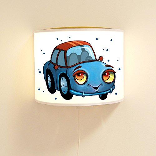 Wandtattoo-welt® ls89 ilka parey Sticker mural pour enfant Motif jungle Bleu à pois