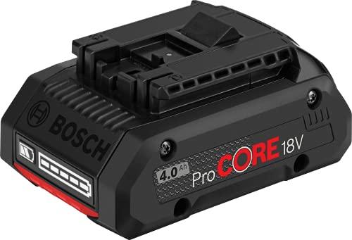 Bosch Professional 1600A016GB Batteria V.18 4.0 AH, 810 W, 18 V, Nero