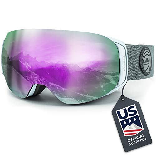 Our #1 Pick is the WildHorn Roca Snowboard & Ski Goggles