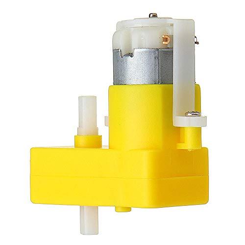 Módulo electrónico DC3-6V doble eje L-TT Tipo de motor DC Motorreductor for 4pcs de coches Equipo electrónico de alta precisión