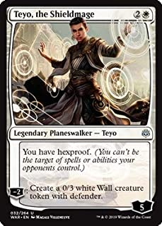 Magic: The Gathering - Teyo, The Shieldmage - War of The Spark