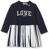 IKKS Junior Robe plissée Love ML Jupe, Bleu (Navy 48), 3-6 Mois (Taille Fabricant:3M) Bébé Fille