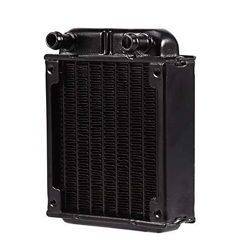 Fila de enfriamiento de agua de 80 mm, radiador de aluminio para CPU de PC, disipador de calor de CPU con banda de radiación tipo U para reducir el calor, disipador de calor de enfriamiento de computa