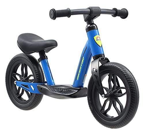 BIKESTAR Bicicleta sin Pedales Muy Ligera para niños y niñas | Bici 10' Pulgadas a Partir de 2-3 años | Eco Clásica Azul