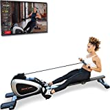 FITNESS REALITY 1000 PLUS Bluetooth Magnetic Rowing Rower with Extended Optional Full Body Exercises and MyCloudFitness App by Paradigm Health & Wellness