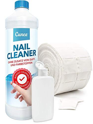 Nailcleaner für Gelnägel mit Zelletten & Dosierflasche - Nagelstudio Qualität