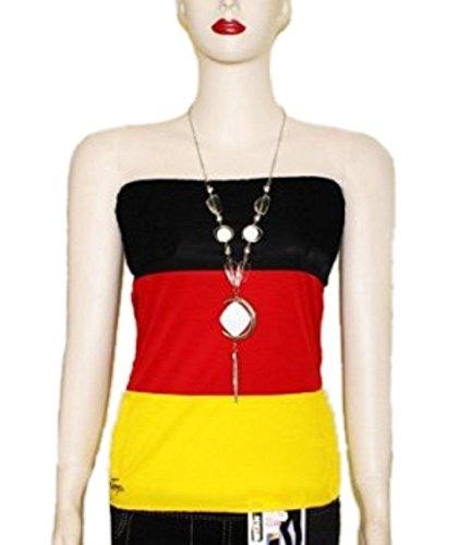 Rock/Damentop multifunktional für Damen Deutschland Fußball WM 2014