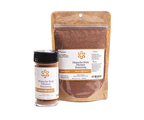 Savory Spice Mapuche Style Merken Seasoning (Merquen) (1 Cup Bag)