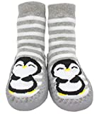 Generic Baby Jungen (0-24 Monate) Socken grau grau, grau