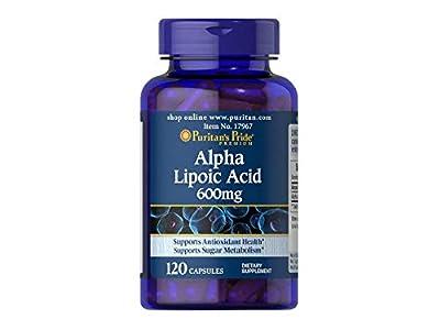 Alpha Lipoic Acid 600 mg x 60 Capsules antioxidant revitalize