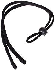 Unisex 6x Sunglass Sports Eyeglass Neck Strap/Cord/Lanyard/Holder (Black)