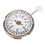 Movimento Installa facilmente e comodamente Movimento dell'orologio del calendario Metallo prezioso durevole, per orologio