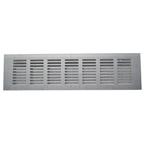 2x Hochwertige Aluminium Lüftungsgitter für eine ideale Belüftung Entlüftung - in verschiedenen Größen erhältlich (80 cm)