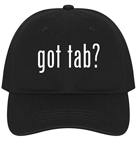 got tab? - Ultra Soft Dad Hat Baseball Cap, Black, One Size