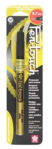 Pen-Touch 41181 Marqueur, Encre de Peinture, doré, 0,02 x 4,9 x 1,9 cm