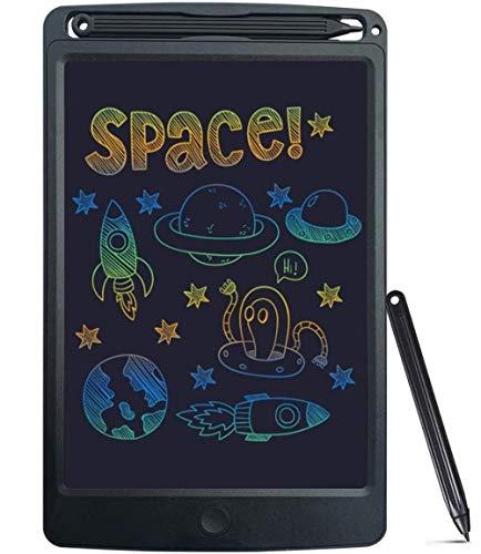 SCRIMEMO LCD Schreibtafel 8.5 Zoll Bunter Bildschirm, Löschbare Elektronische Digitale Zeichenblock Doodle Board, Geschenk für Kinder Erwachsene Home School Office (Grau)