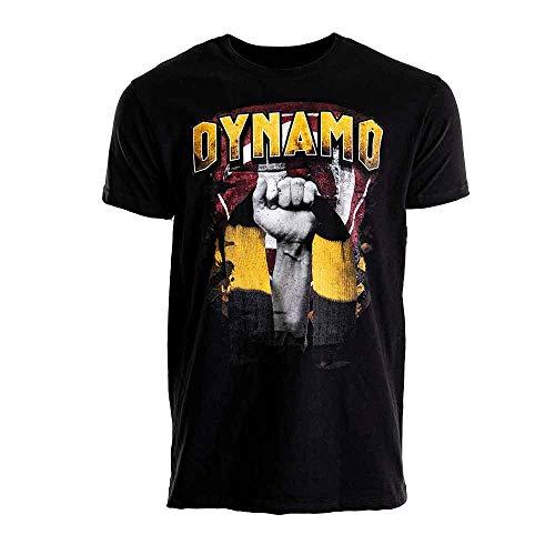 SG Dynamo Dresden T-Shirt SCHAL schwarz, Größe:L