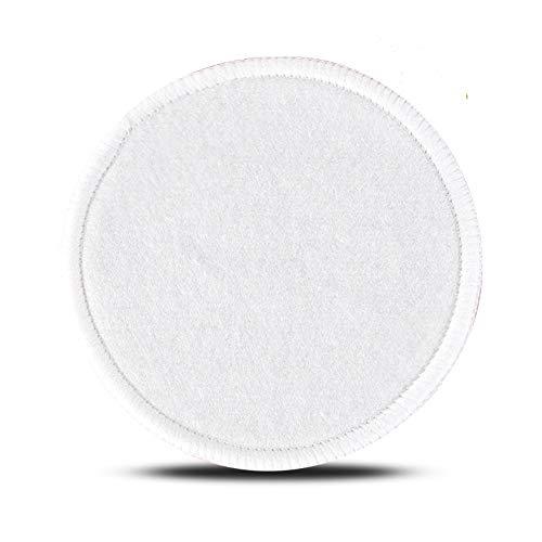 Beashine Make-up Remover Pads Herbruikbare Katoen Bamboe Katoenen Pads Organische Microvezel Katoen Rondjes Dubbelzijdig voor Make-up Verwijdering Baby Gezicht Gevoelige Huid, Pack van 10 Stijl 4