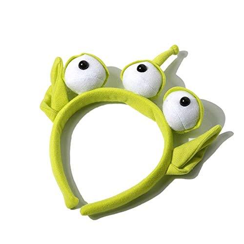 wwwl Juguete de Peluche Novedad Nuevo Toy Story Orejas Alienígenas Disfraz Peluche Diadema Edad Niños Cumpleaños Niño Mascarada Fiesta Cosplay
