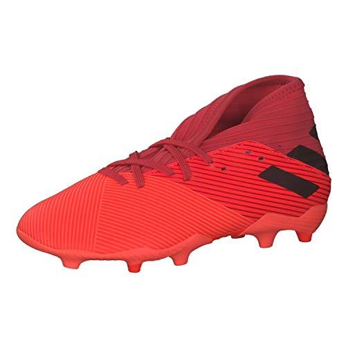 adidas Nemeziz 19.3 FG J, Zapatillas de fútbol, CORSEN/NEGBÁS/ROJGLO, 36 EU