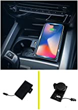 Console Storage Box Wireless Charging Charger for BMW X5 F15 X6 F16 2014 2015 2016 2017 2018