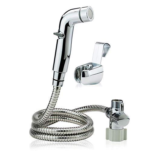 JP Bathroom Master's Full Pressure Control - Hand Held Cloth Diaper Sprayer for Toilet - Bidet Sprayer for Toilet Design - Easy to Install Bathroom Diaper Sprayer with Adjustable Pressure Control