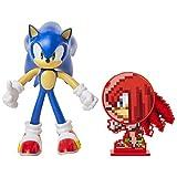 SONIC Figura de accción Sonic The Hedgehog (tamaño 10cm) con Miembros Flexibles y Accesorio, 400514