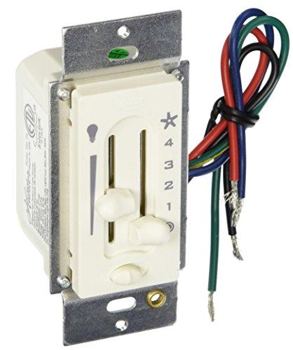 Hunter 27183 Fan/Light Preset Dual Slide Fan/Light Control