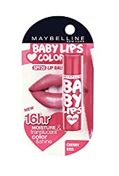 Maybelline New York Baby Lips Lip Balm, Cherry Kiss - Curiouskeeda