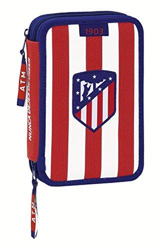 Atletico de Madrid - Plumier Doble pequeño 34 Piezas (SAFTA 411758054)