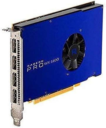 AMD Radeon Pro WX 5100 8 GB GDDR5 - Tarjeta gráfica (8 GB, GDDR5, 256 bit, 5120 x 2880 Pixeles)