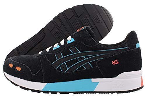 ASICS Mens Gel-Lyte Lace Up Sneakers Casual Sneakers, Black, 10.5
