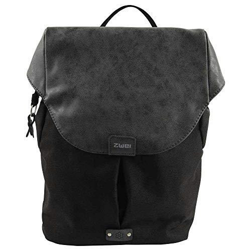 ZWEI Olli O12 Rucksack Backpack Rucksacktasche Handtasche noir schwarz
